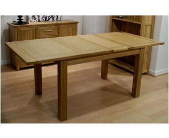 Opus Oak Extending Dining Table