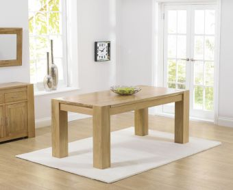 Thames 180cm Solid Oak Dining Table