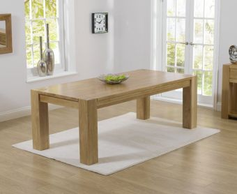 Thames 300cm Solid Oak Dining Table