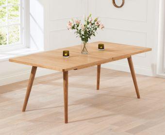 Tivoli 150cm Retro Oak Extending Dining Table