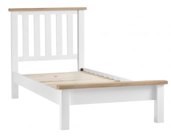 Ellen Oak and White Single Bed