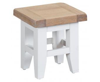 Ellen Oak and White Nest of 3 Tables