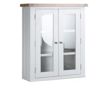 Ellen Oak and White Dresser Top