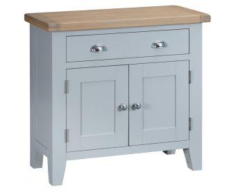 William 2 Door 1 Drawer Oak and Grey Sideboard