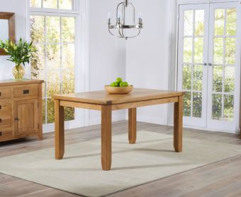 Yateley 140cm Oak Dining Table