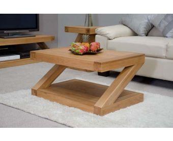 Z 90cm Solid Oak Coffee Table