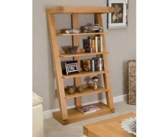 Z Solid Oak 165cm Bookcases