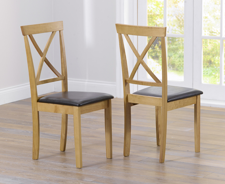 Product photograph showing Epsom Dining Chairs Pairs