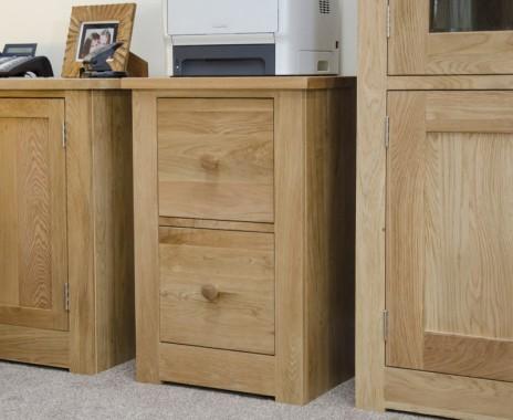 Reno Oak Filing Cabinet