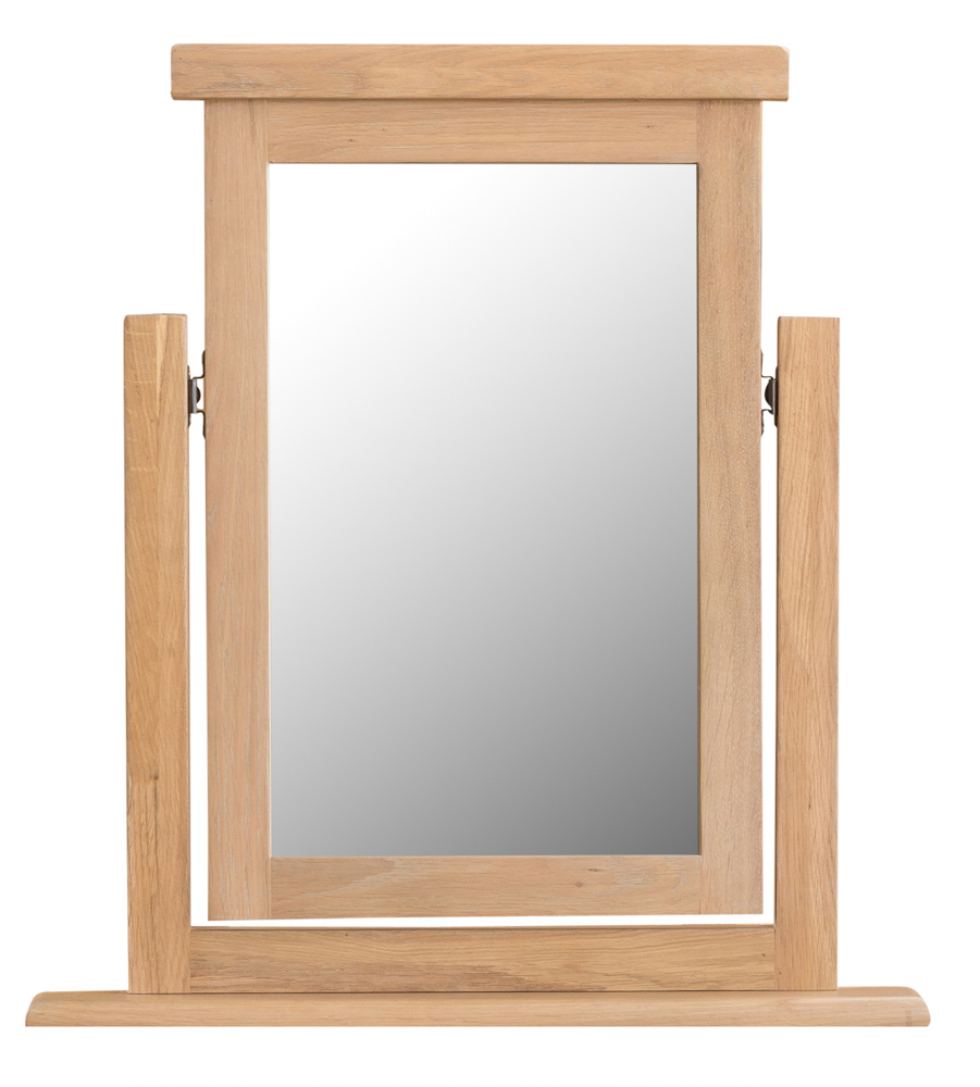 An image of Ruby Oak Trinket Mirror