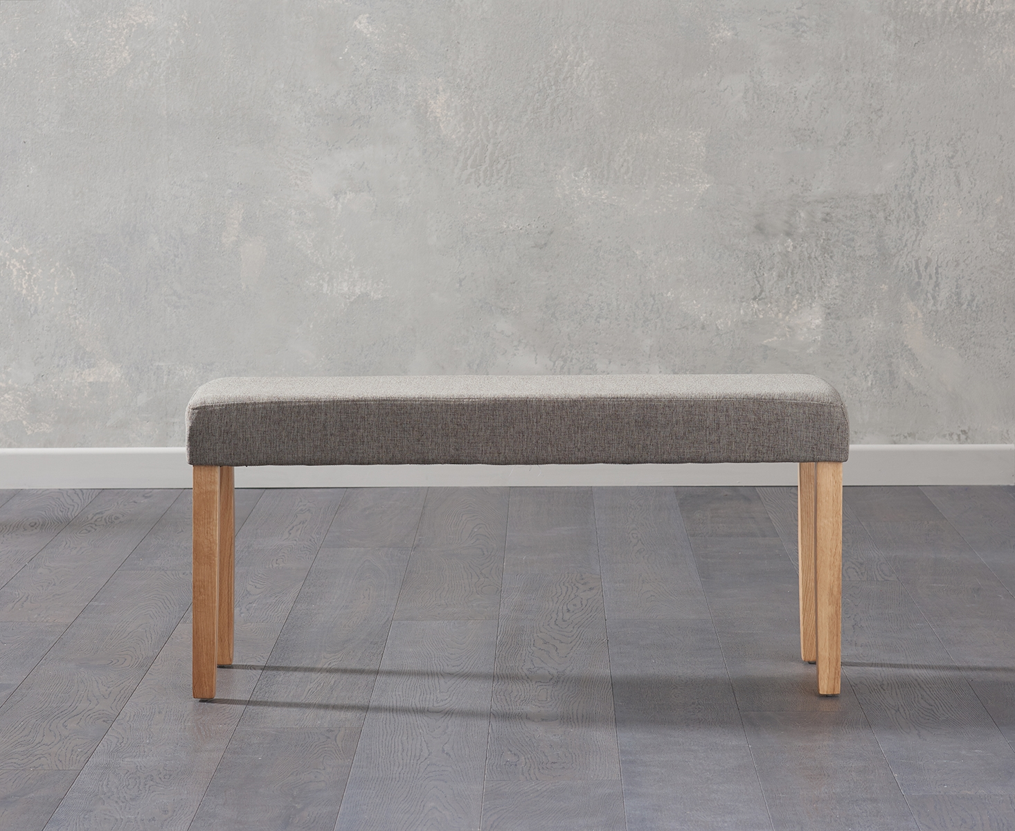 An image of Mia Small Brown Bench