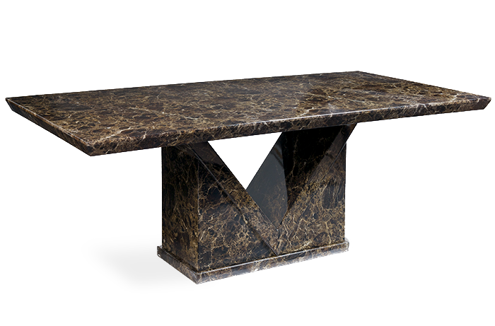 Maretto 220cm Marble Effect Dining Table