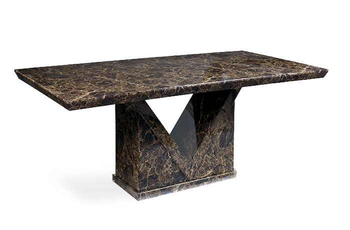 Maretto 180cm Marble Effect Dining Table