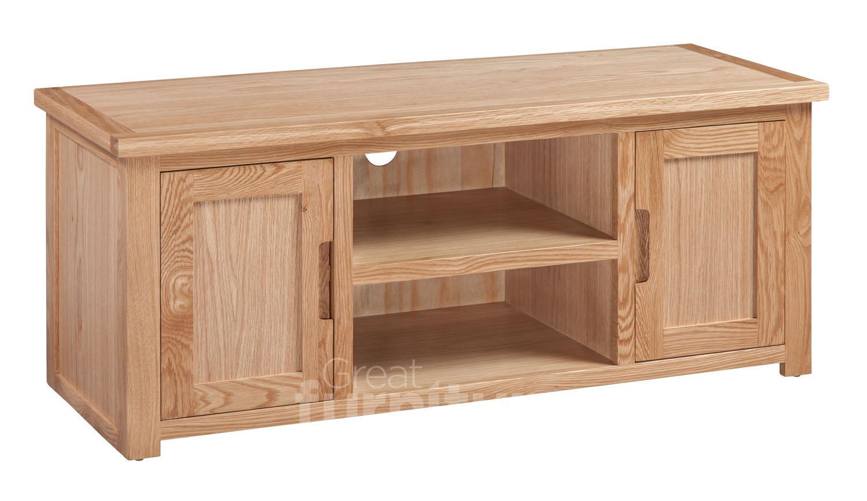 Melrose Oak Large TV Cabinet