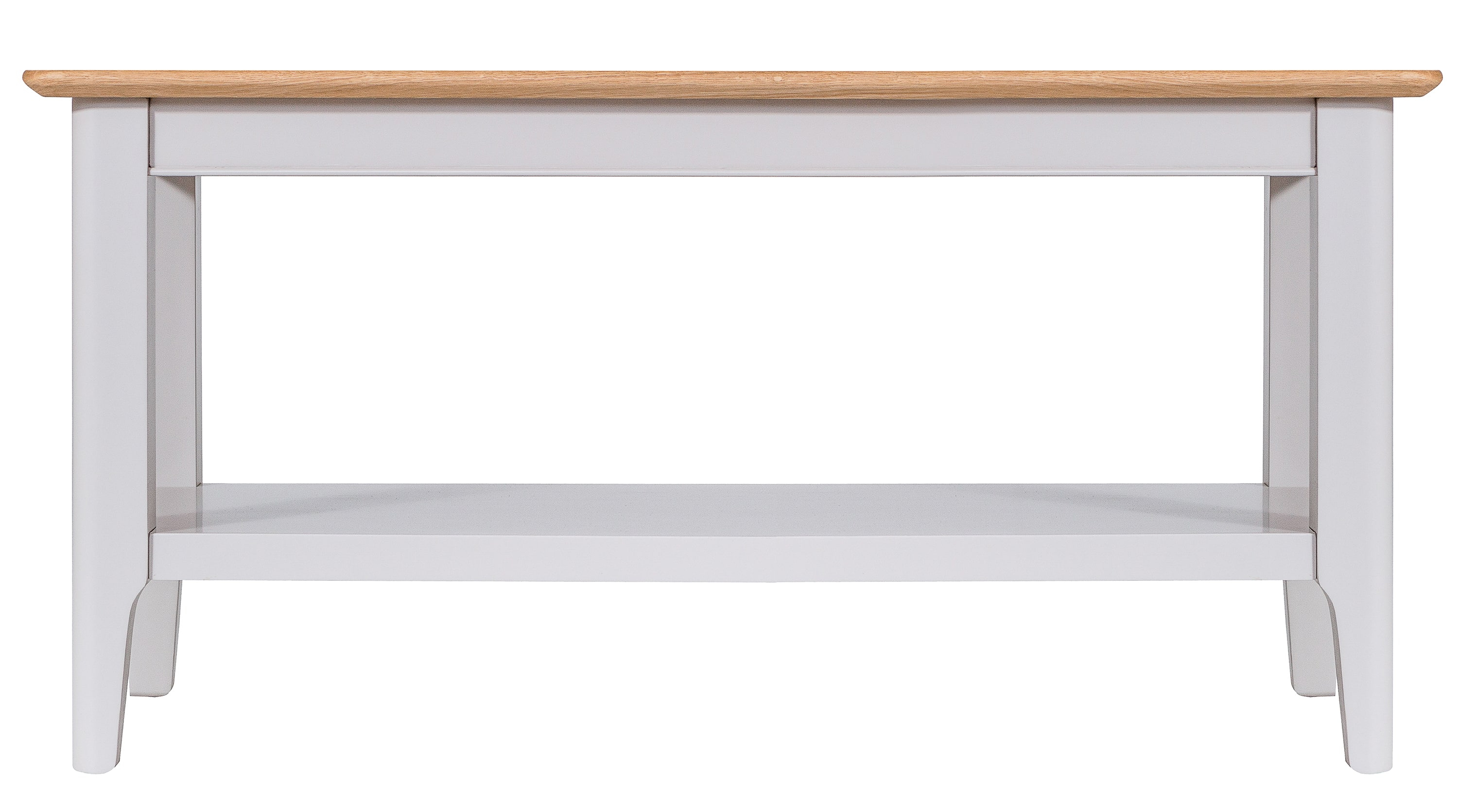 Product photograph showing Diego Oak And Grey Small Coffee Table