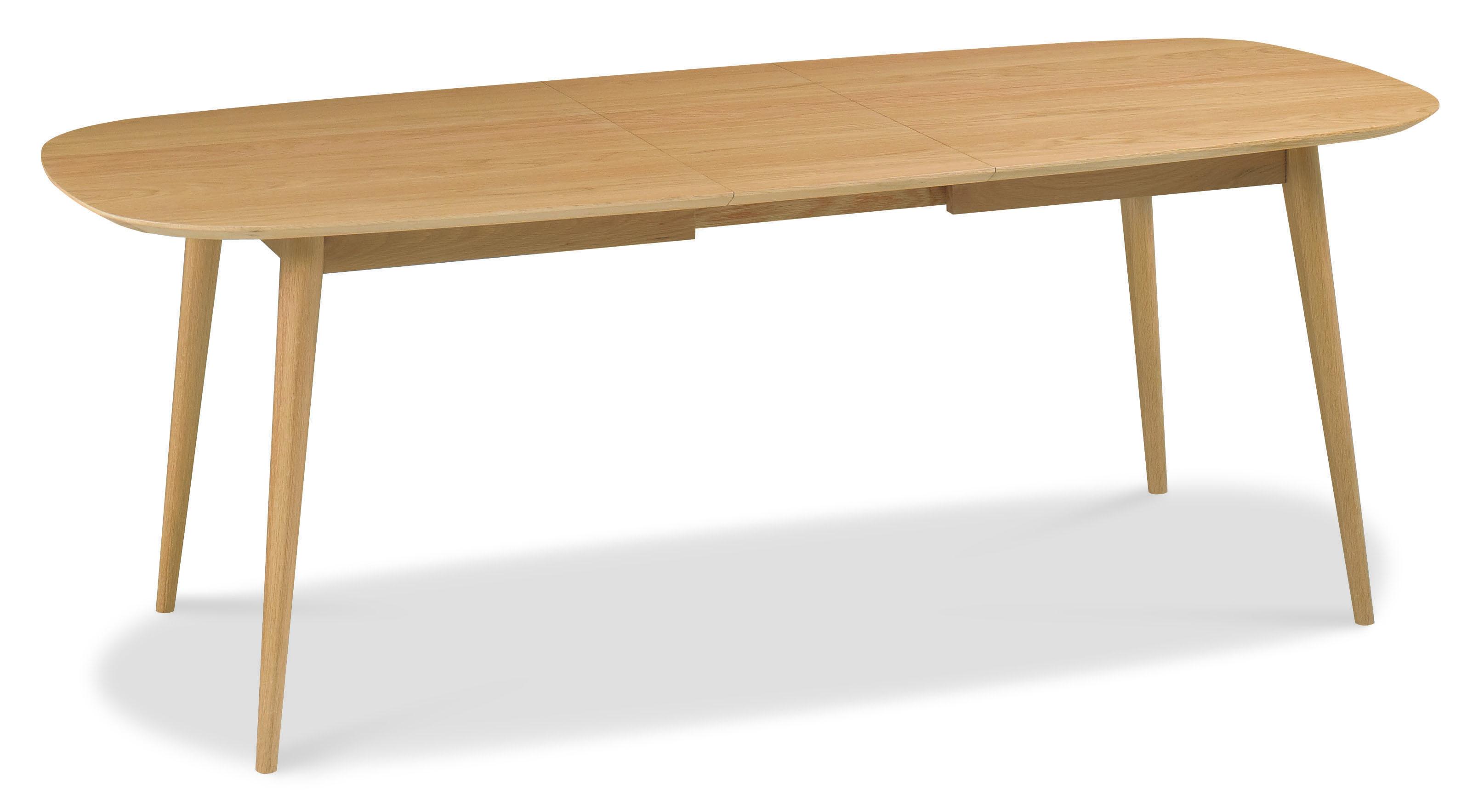 Oslo Oak Extending 6-8 Seater Dining Table