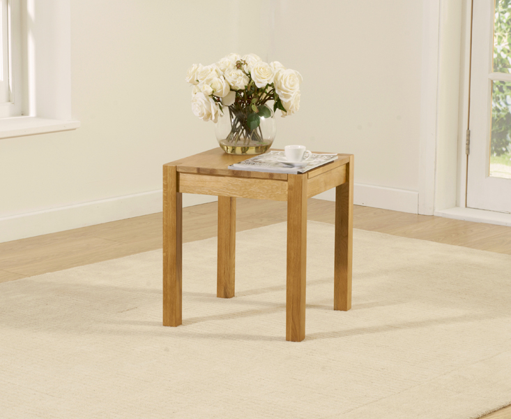 An image of Oxford Oak Lamp Table