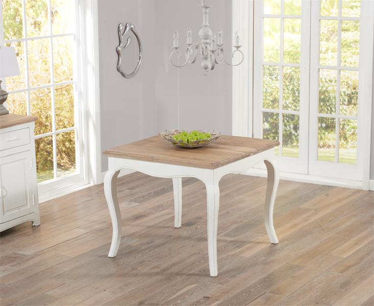 Parisian 90cm Shabby Chic Dining Table