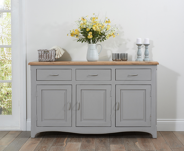 Parisian Grey Shabby Chic Sideboard