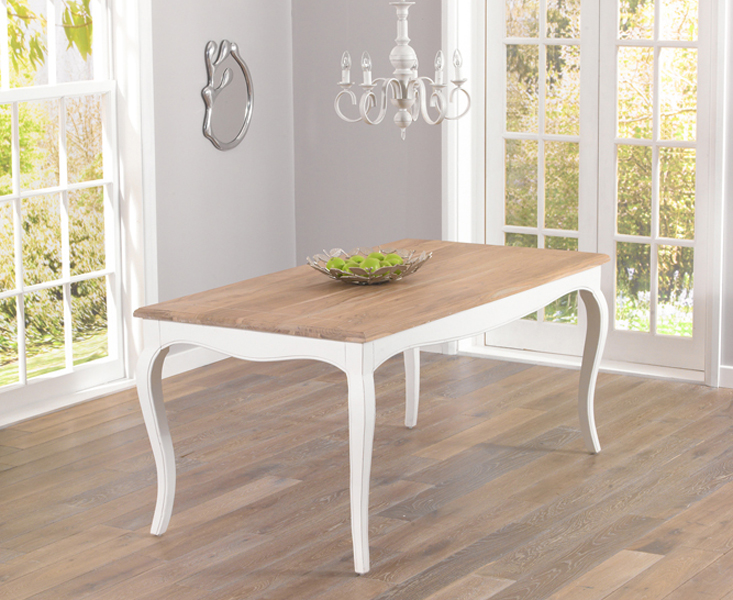 Parisian 175cm Shabby Chic Dining Table