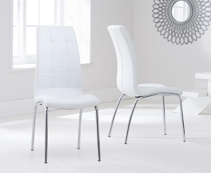 Calgary Ivory White Chairs