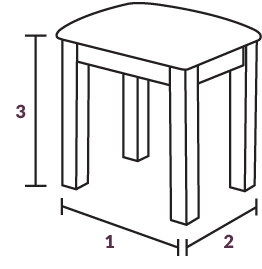 Stool Dimensions