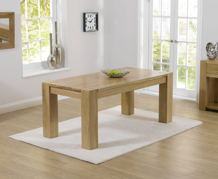 Thames 220cm Oak Dining Table