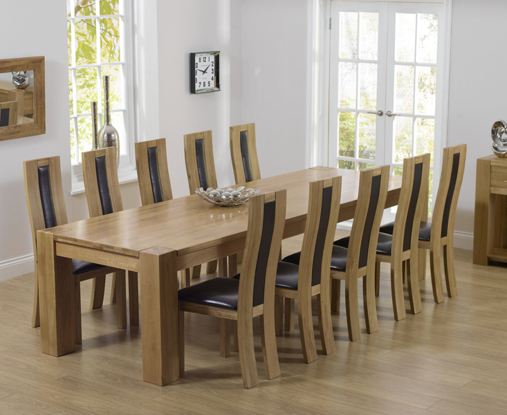 Thames 300cm Oak Dining Table with Toronto Chairs