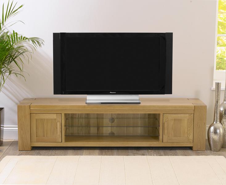 Thames 180cm Oak TV Unit