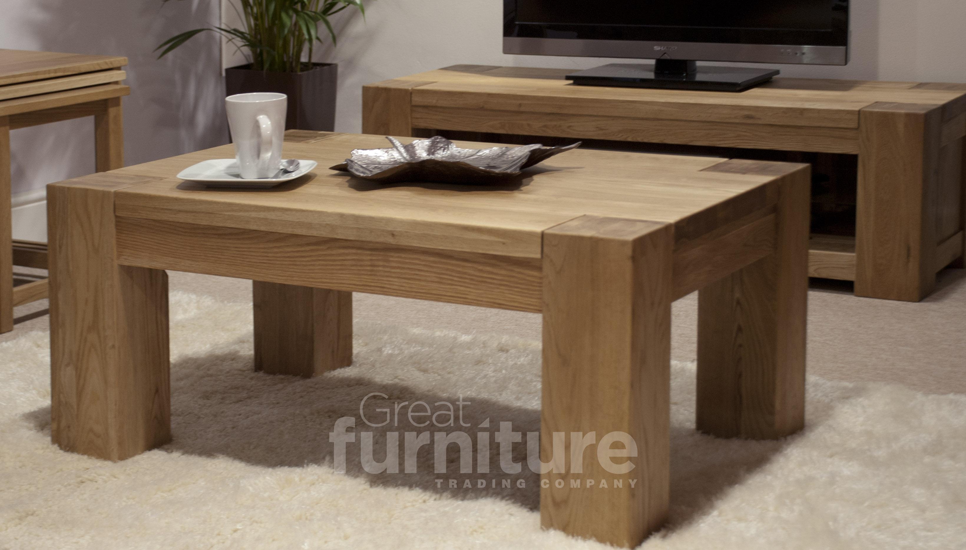 Trend 120cm Oak Coffee Table