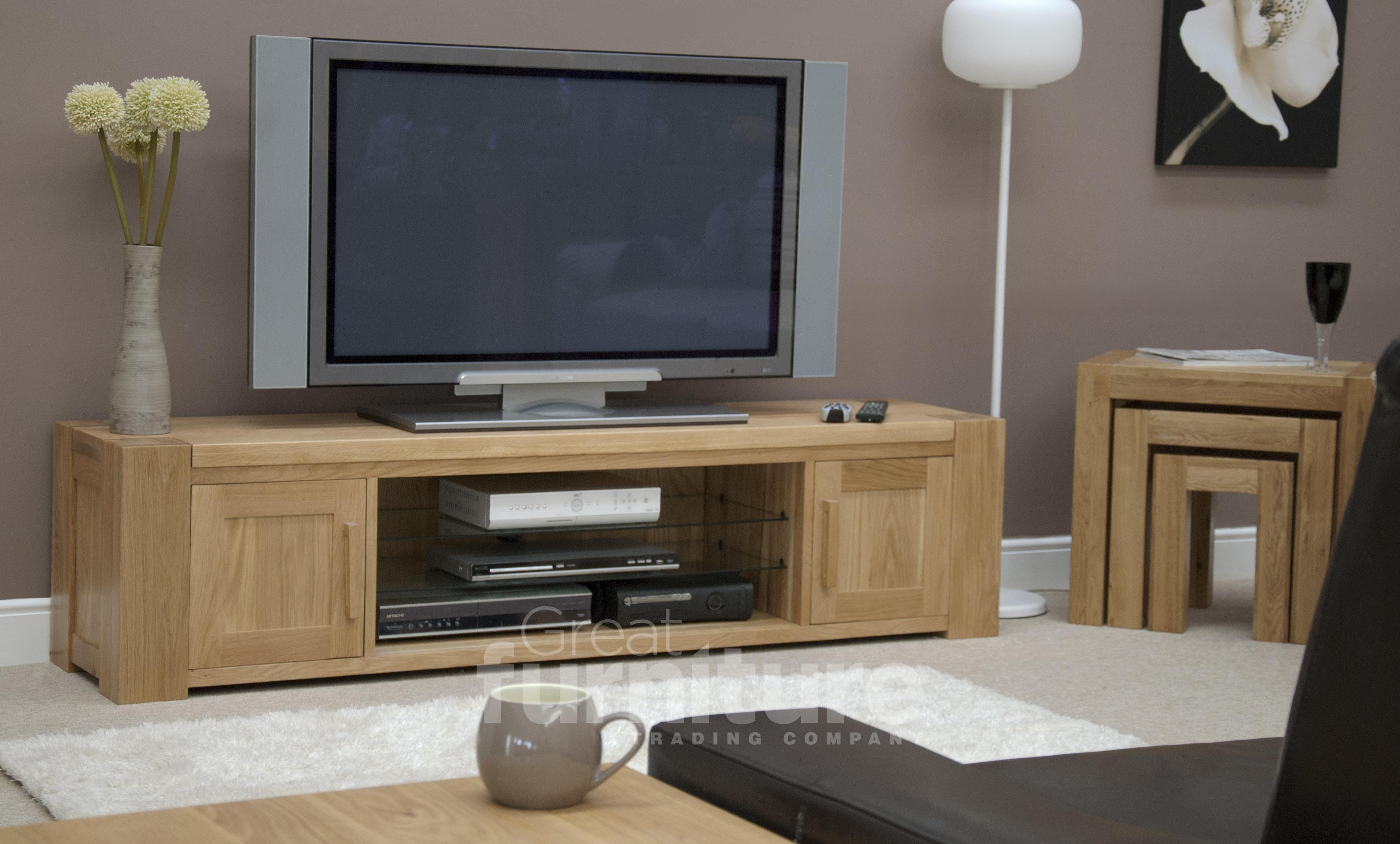 Trend 180cm Oak TV Unit