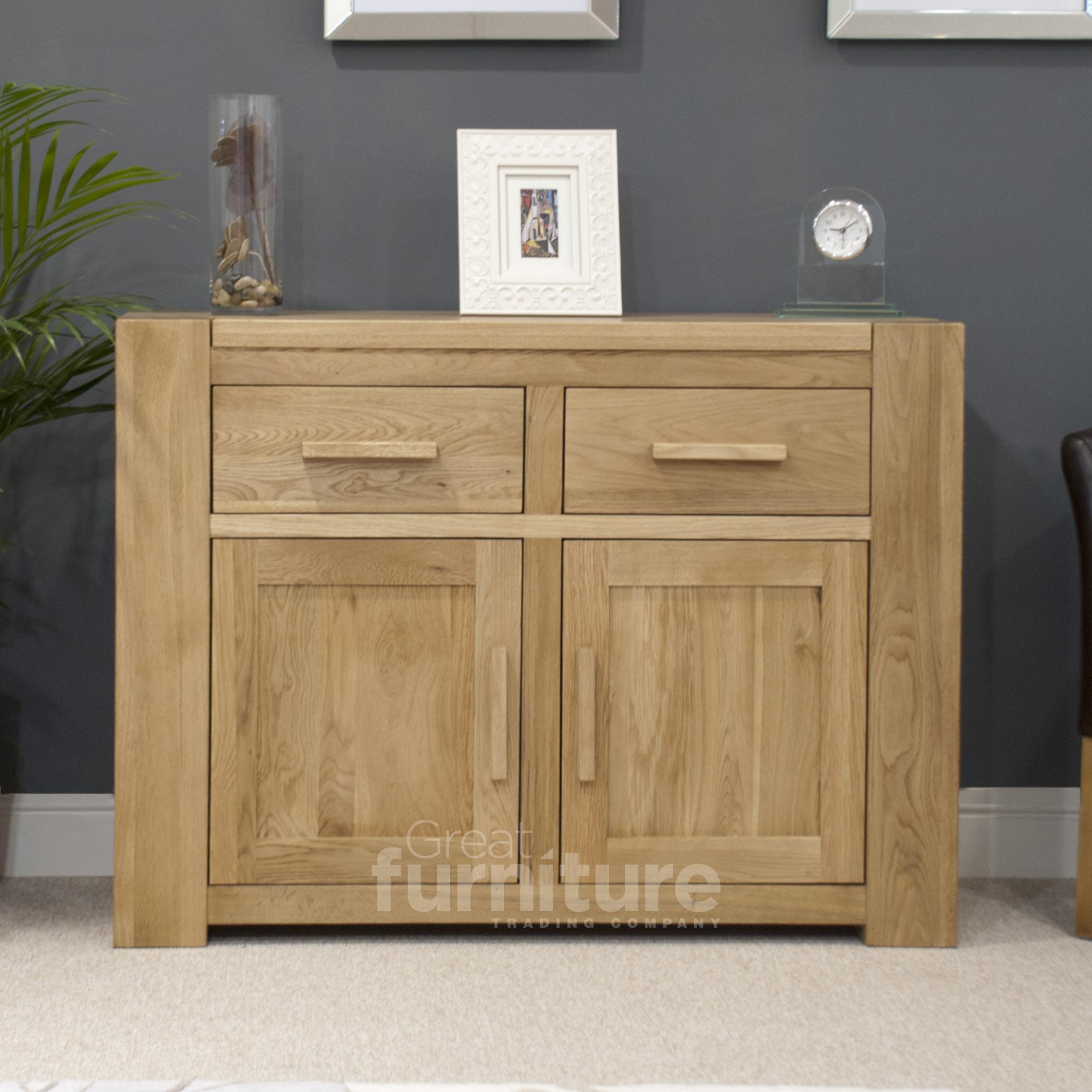 Trend 110cm Oak Sideboard