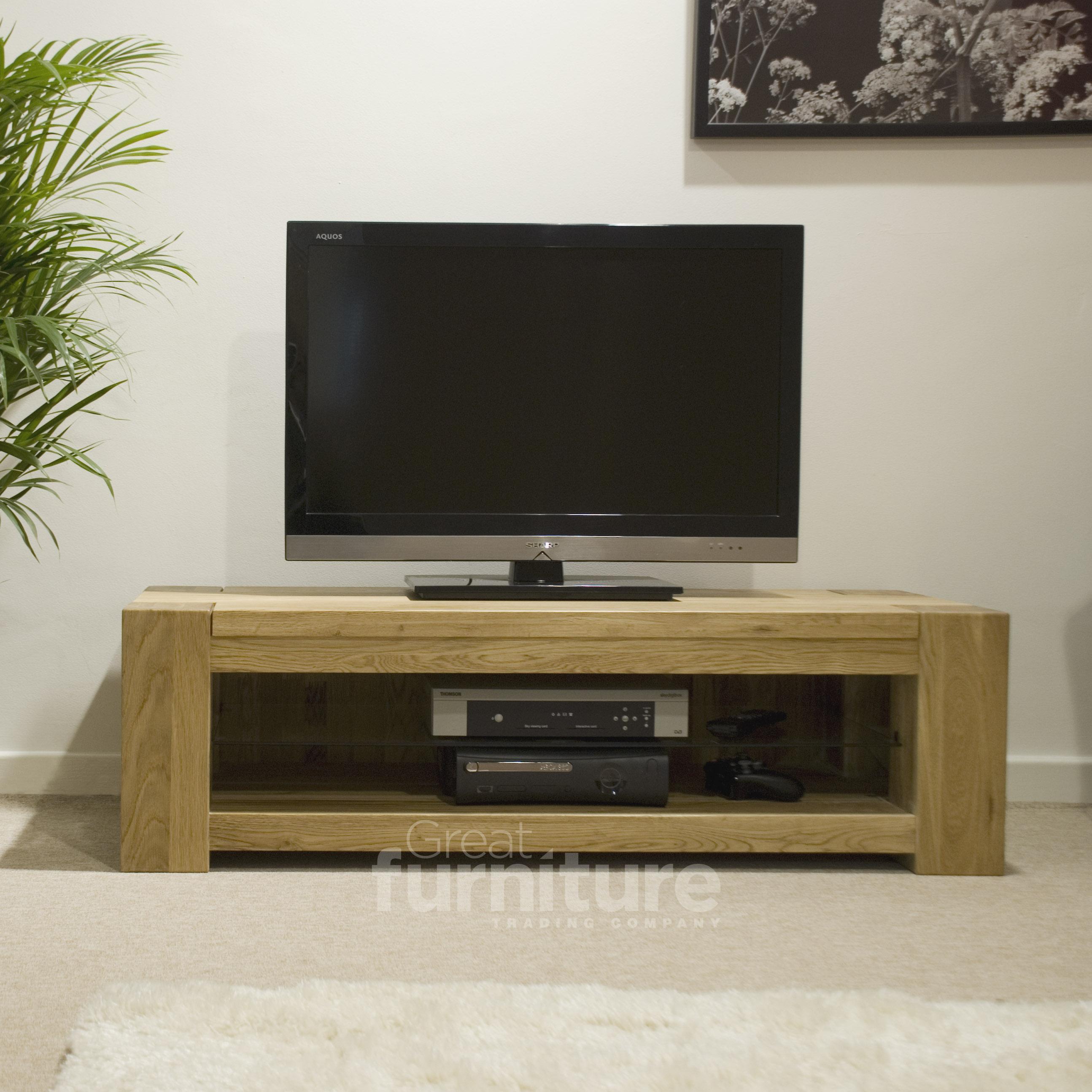Trend 120cm Oak TV Unit