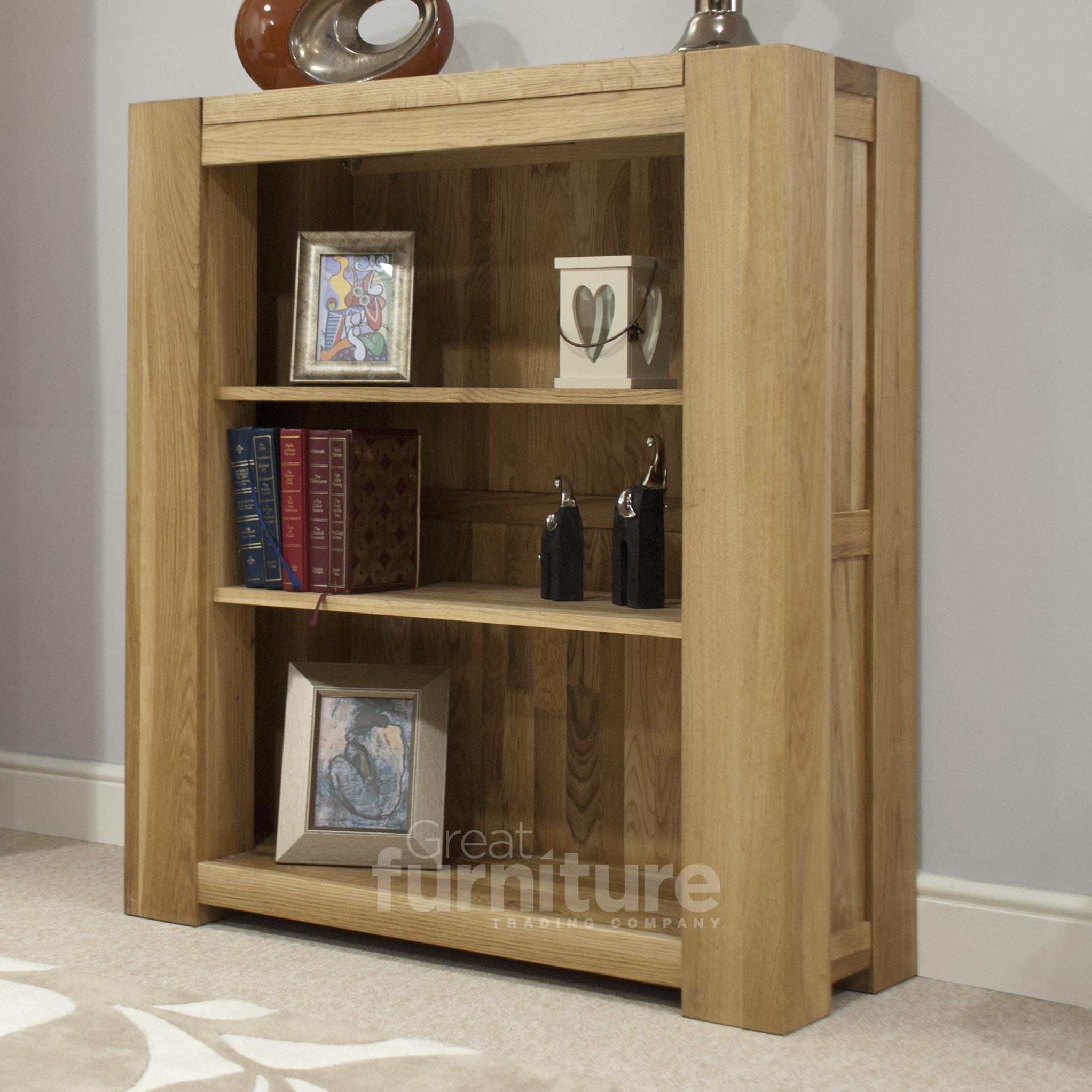 Photo of Trend 105cm oak bookcases