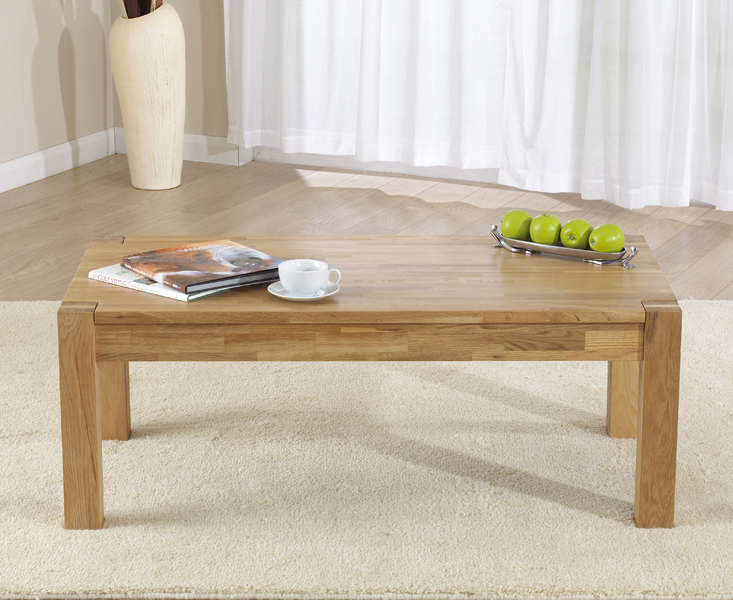 An image of Verona Oak Coffee Table