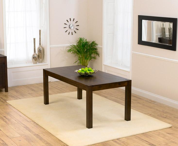 Verona 180cm Dark Oak Dining Table