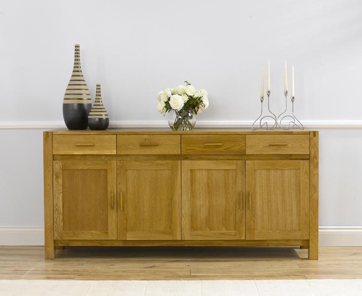 Verona 180cm Oak Sideboard