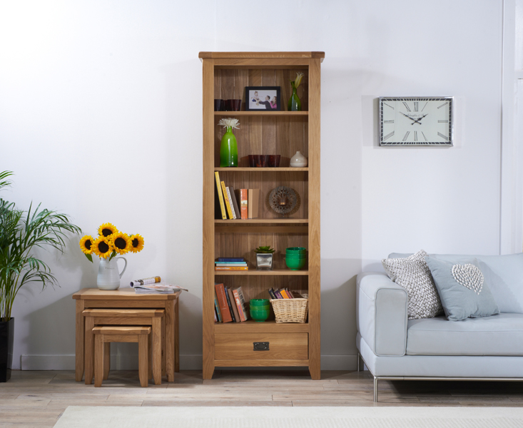 Yateley Oak Bookcase